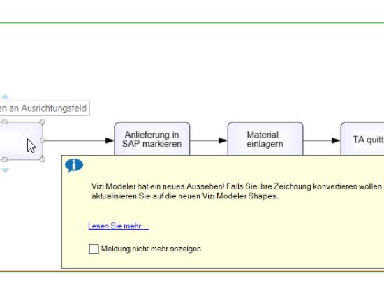 Neues Look & Feel, Vizi Modeler für Microsoft Visio von itp commerce ag
